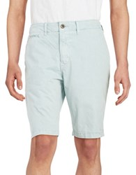 Lucky Brand Twill Cotton Shorts Blue