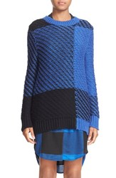 Rag And Bone Women's 'Jessa' Plaid Crewneck Sweater
