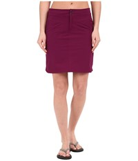 Mountain Hardwear Yuma Skirt Dark Raspberry Women's Skirt Red