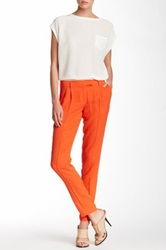 L.A.M.B. Silk Skinny Pant Orange