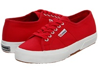 Superga 2750 Cotu Classic Maroon Red Lace Up Casual Shoes