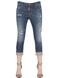 Dsquared Cool Girl Cropped Washed Jeans