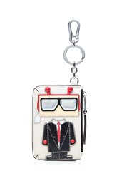 Karl Lagerfeld Robot Coin Purse Keychain Black