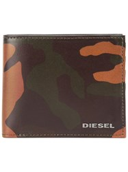 Diesel 'Hiresh S' Wallet Brown