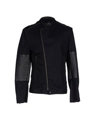 Karl Lagerfeld Denim Denim Outerwear Men Black