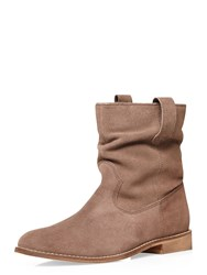 Dorothy Perkins Nena Pull On Boots Brown
