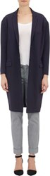 Atm Anthony Thomas Melillo Women's Ponte Cocoon Coat Blue