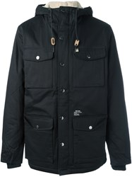 Obey 'Heller' Hooded Jacket Black