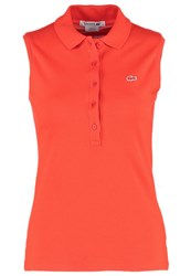 Lacoste Polo Shirt Orange