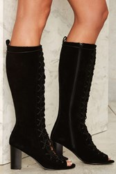 Urge Ashe Suede Boot Black