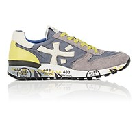 Premiata Men's Mick Low Top Sneakers Grey