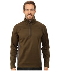 Royal Robbins Cannon 1 2 Zip Timber Men's Long Sleeve Pullover Brown