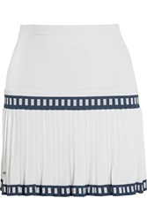 L'etoile Sport Medea Pleated Stretch Jersey Skirt