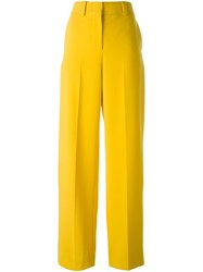 Cedric Charlier Tailored Trousers Yellow And Orange