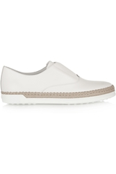 Tod's Leather Espadrille Sneakers