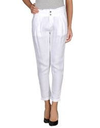 Timeout Casual Pants White