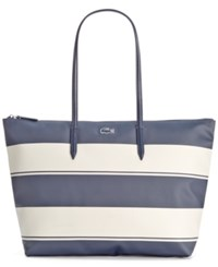Lacoste L1 Stripe Large Shopper Bag
