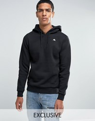 Kappa Hoodie With Small Logo Black