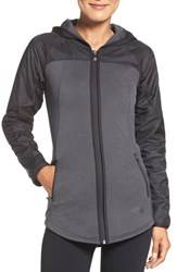 The North Face Women's 'Spark' Water Resistant Hoodie Tnf Dark Grey Tnf Black