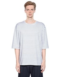Antonio Marras Striped Heavy Cotton Jersey T Shirt