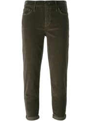 Mother 'The Dropout' Trousers Grey