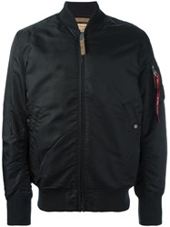 Alpha Industries Padded Bomber Jacket Black