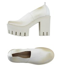 Strategia Footwear Moccasins Women White
