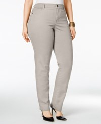 Styleandco. Style Co. Plus Size Tummy Control Slim Leg Jeans Only At Macy's Preston