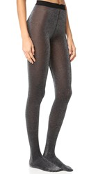 Wolford Stardust Tights Black Silver