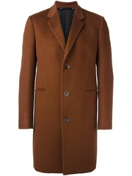 Paul Smith 'A Coat To Travel In' Overcoat Brown