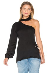 Karina Grimaldi Tanya Solid Top Black