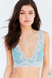 Out From Under Valentina Lace Bralette Blue