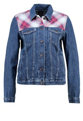 Gap Icon Denim Jacket Dark Indigo Dark Blue