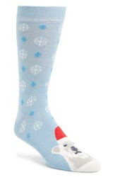 Men's Topman 'Christmas Bear' Socks