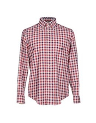 Henry Cotton's Shirts Red
