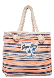Superdry Tote Bag Fluro Erringbone Multicoloured