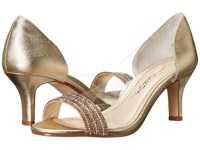 Caparros Fancy Medium Gold Metallic High Heels