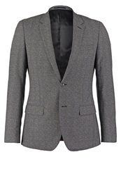 Reiss Bronte B Suit Jacket Grey Mottled Dark Grey