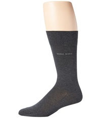 Hugo Boss Paul Charcoal Men's Crew Cut Socks Shoes Gray