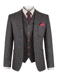 Gibson Men's Charcoal Fleck Donegal Jacket Charcoal