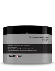 Anthony Logistics For Men Astringent Toner Pads No Color