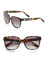 Jason Wu Joan 55Mm Wayfarer Sunglasses Dark Tortoise