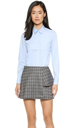 Kimem Cindy Vest Shirt Blue