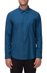 Tavik Men's 'Allin' Regular Fit Woven Shirt Blue