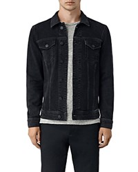 Allsaints Durness Denim Jacket Black