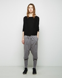 Forme D'expression Double Layer Sweatpants Grey