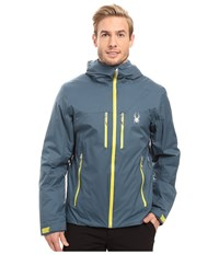 Spyder Pryme Jacket Union Blue Sulfur Men's Coat