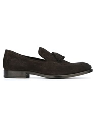 Henderson Fusion Tassel Detail Loafers Brown