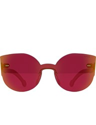 Super By Retrosuperfuture Tuttolente Lucia Red Sunglasses
