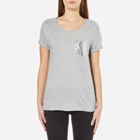 Boss Orange Women's Tamiasa T Shirt Medium Grey